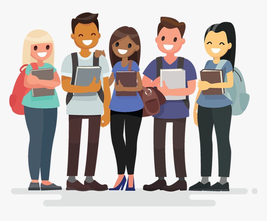 Animated Pictures Of College Students