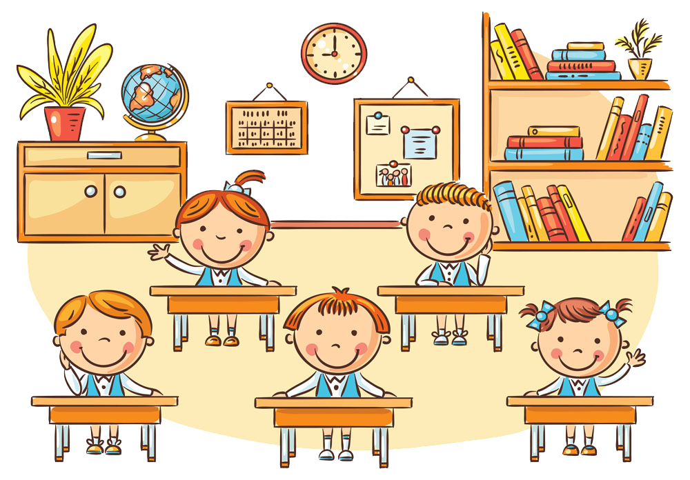 Animated Pictures Of School Students
