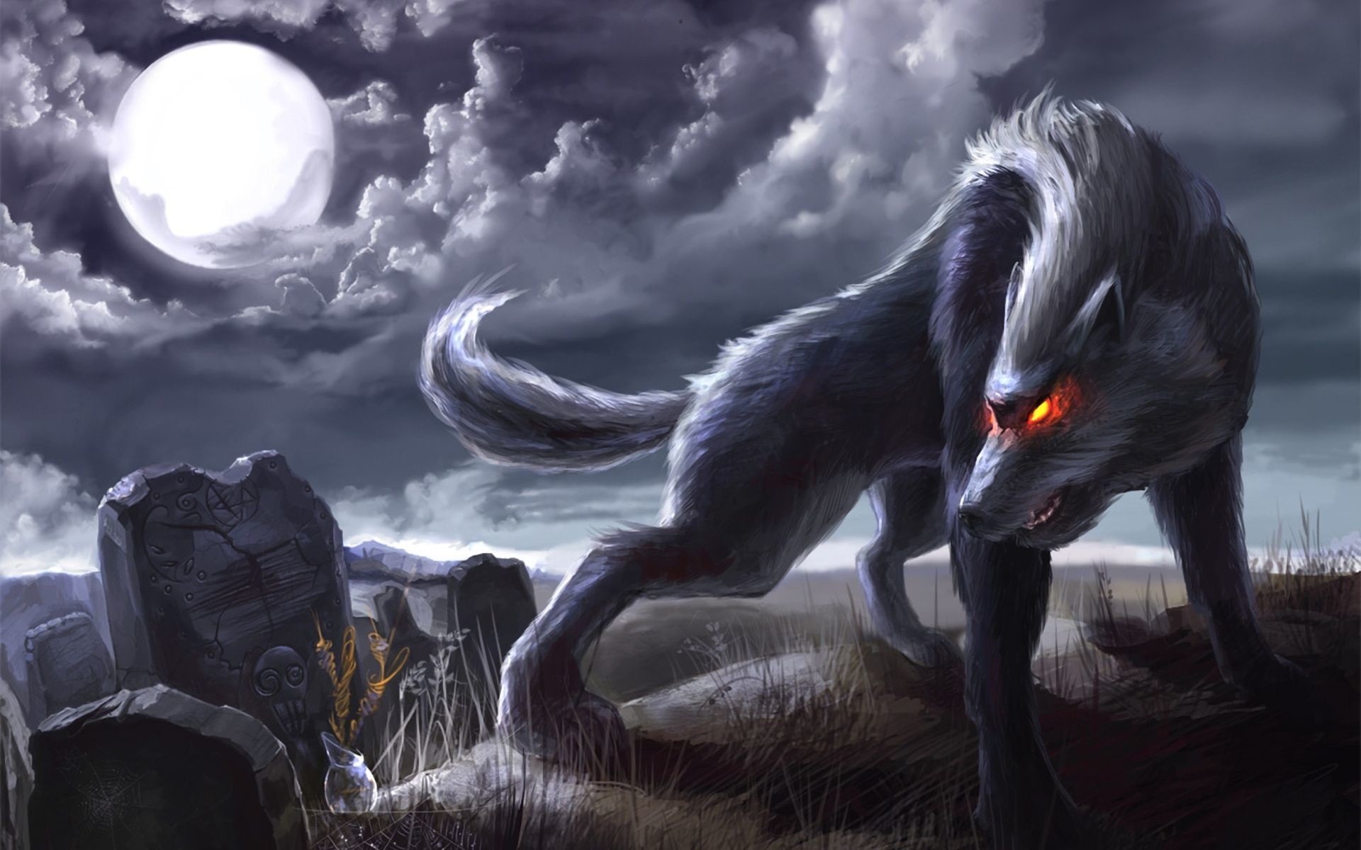 Animated Wolf Pictures Download