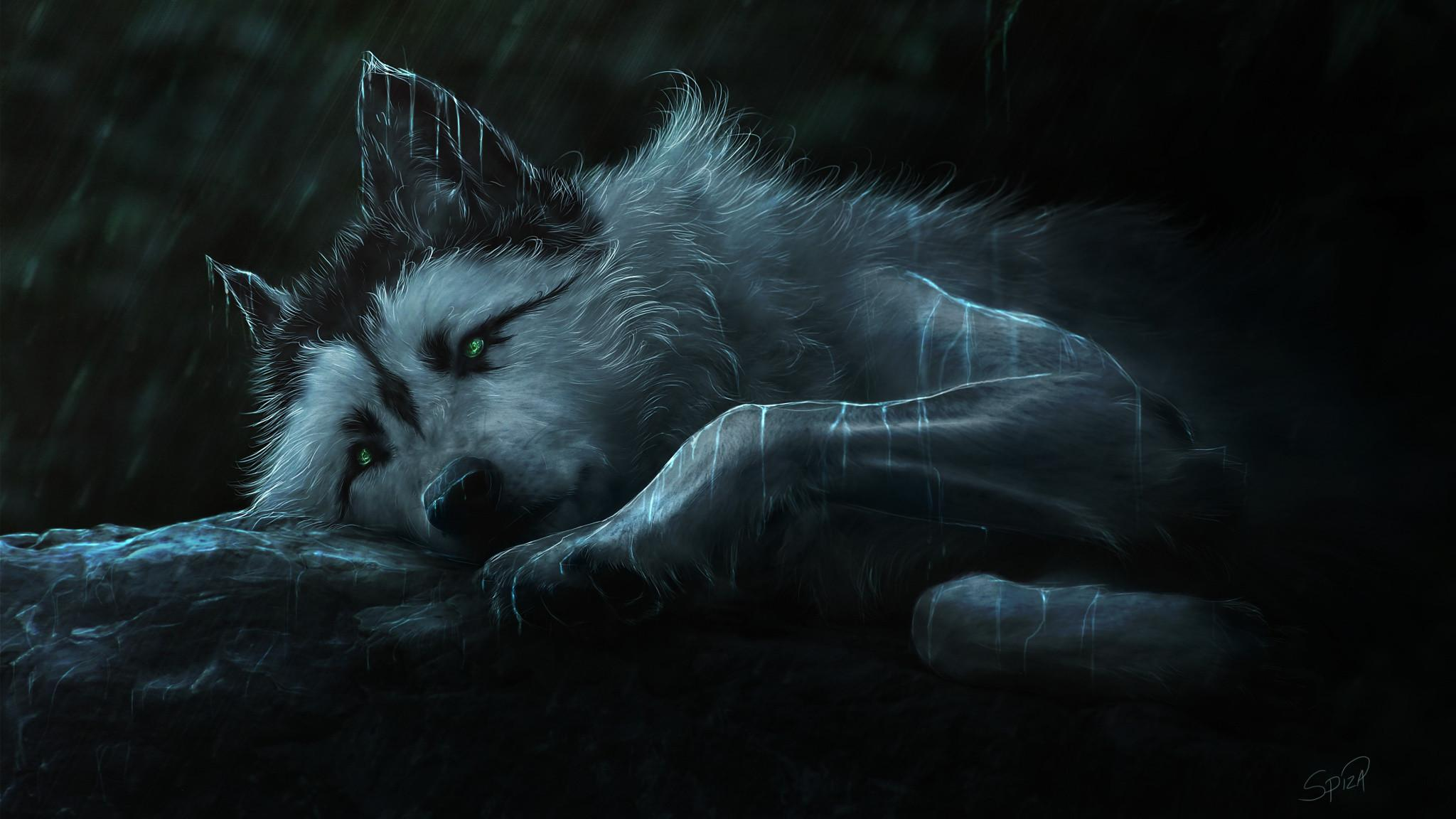 Animated Wolf Pictures Free