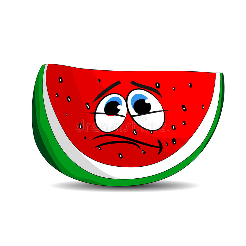 Cartoon Pictures Of A Watermelon