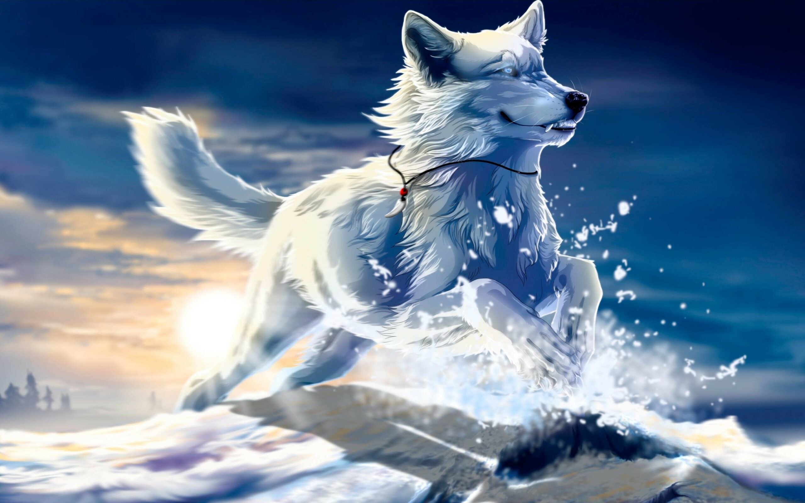 Cool Animated Wolf Pictures