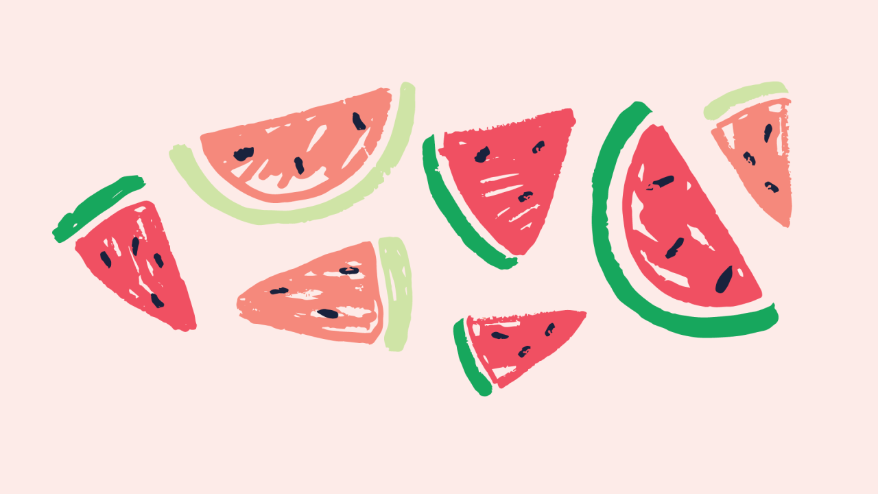 Watermelon Aesthetic Wallpapers