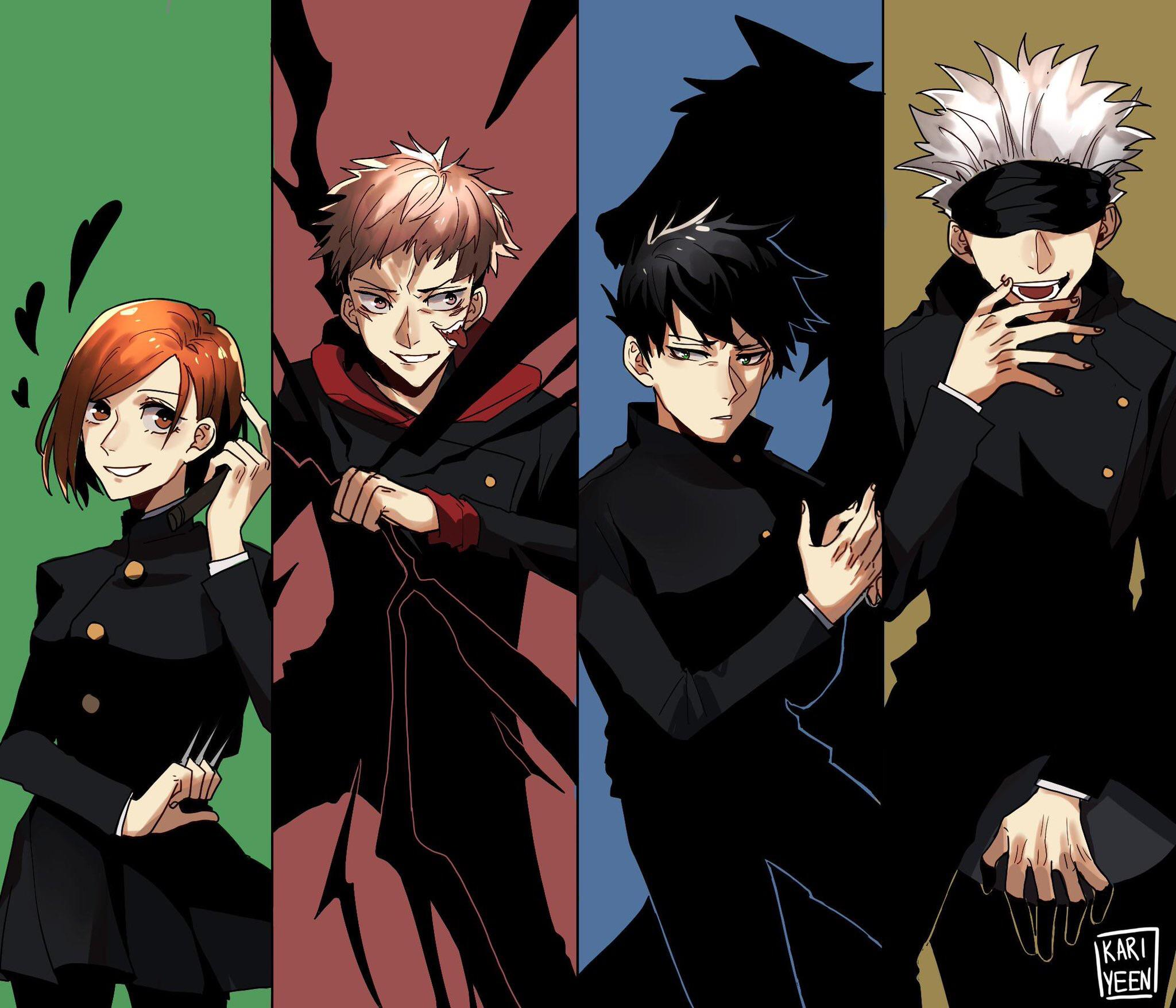 Jujutsu Kaisen Characters Pictures