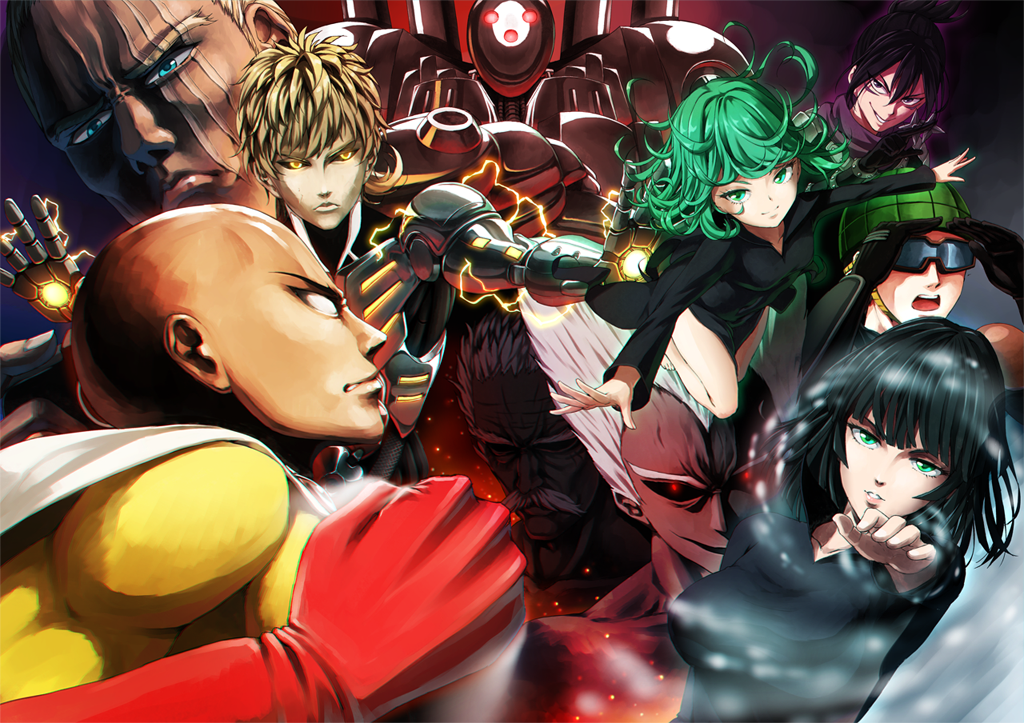 One Punch Man Cool Pics