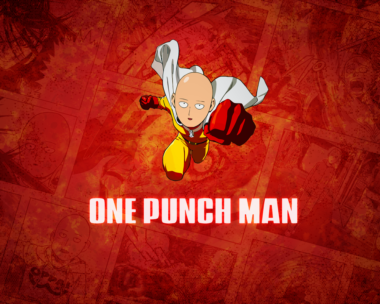 One Punch Man Funny Images