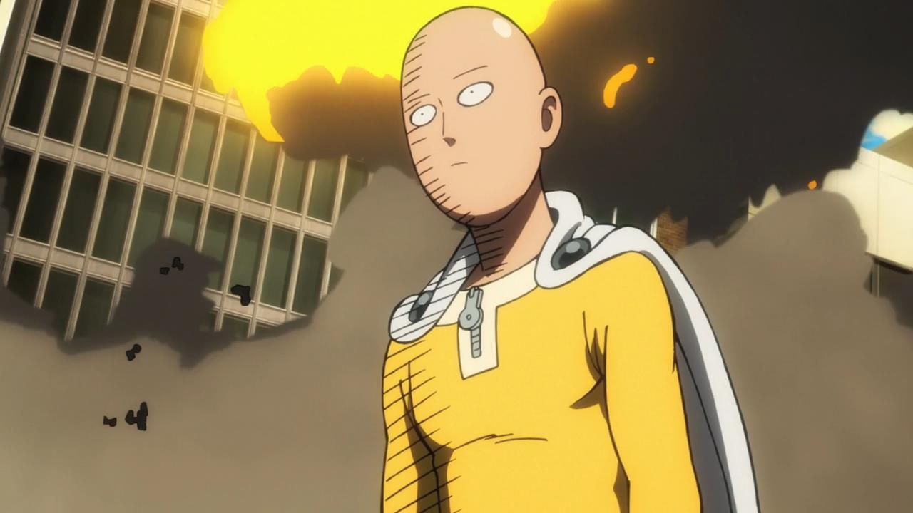 One Punch Man Funny Pics