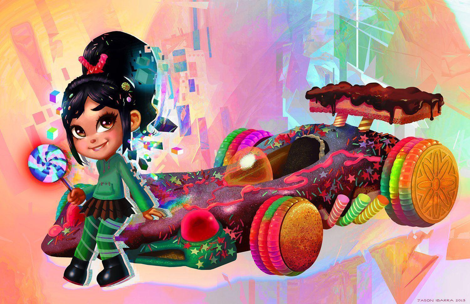Pictures Of Vanellope From Wreck It Ralph