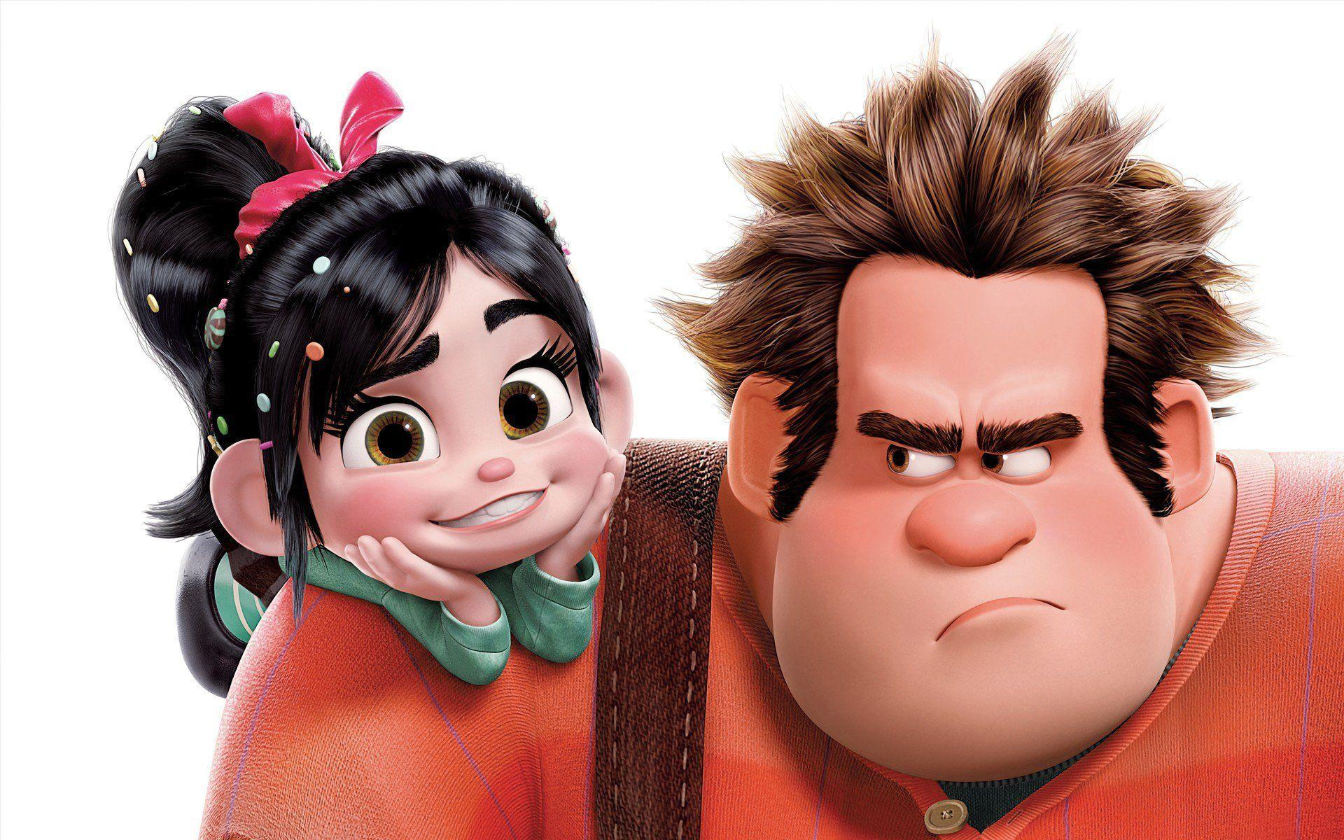 Pictures Of Wreck It Ralph And Vanellope