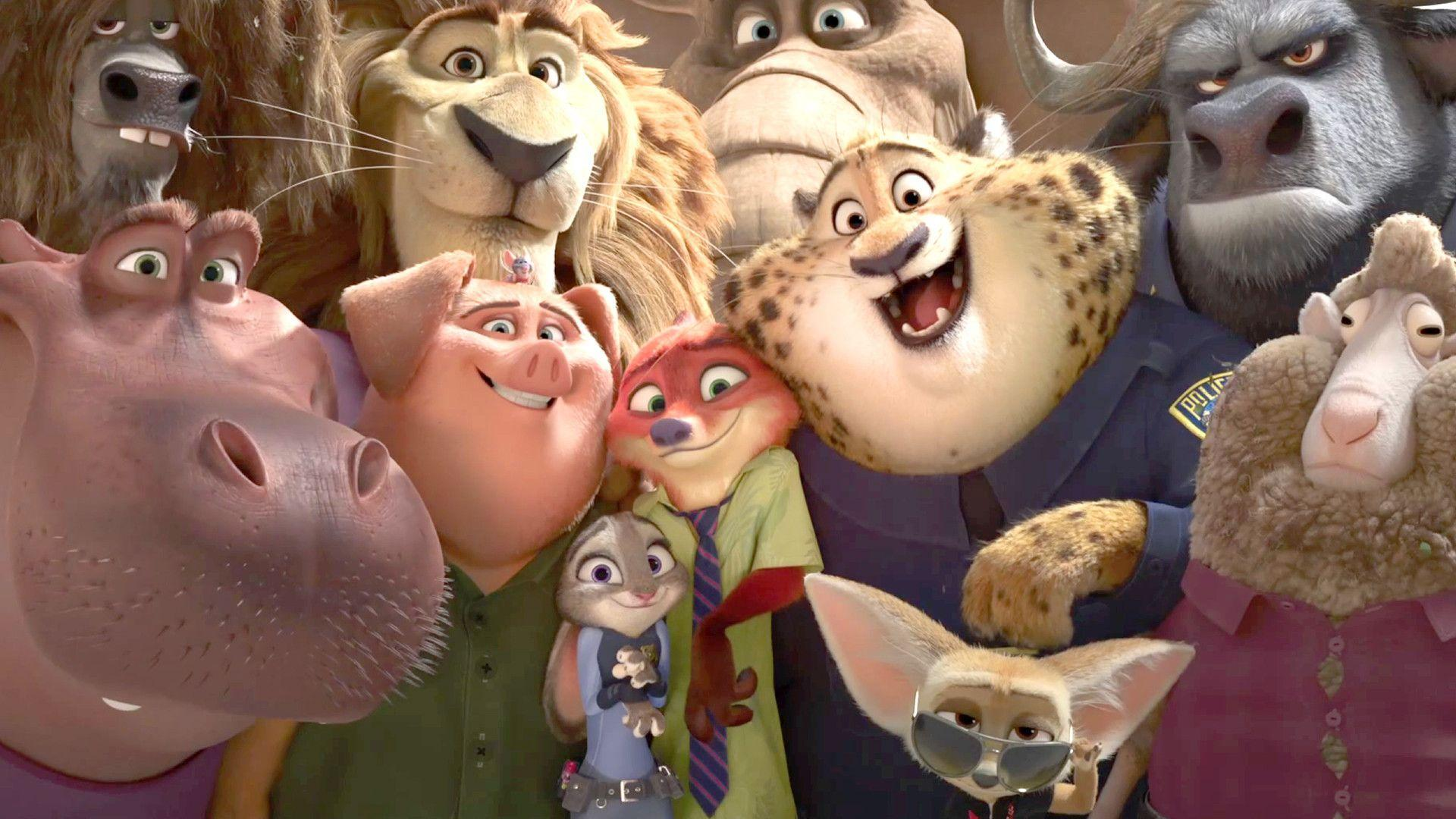 Pictures Of Zootopia Characters