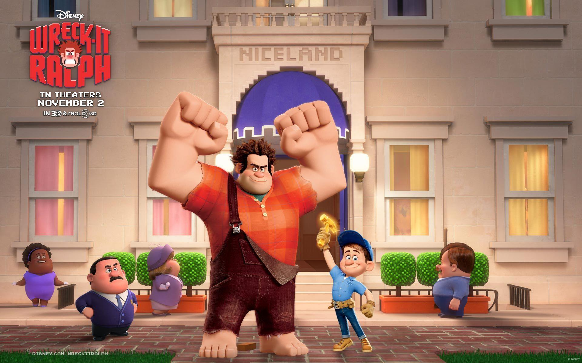Wreck It Ralph Characters Pictures
