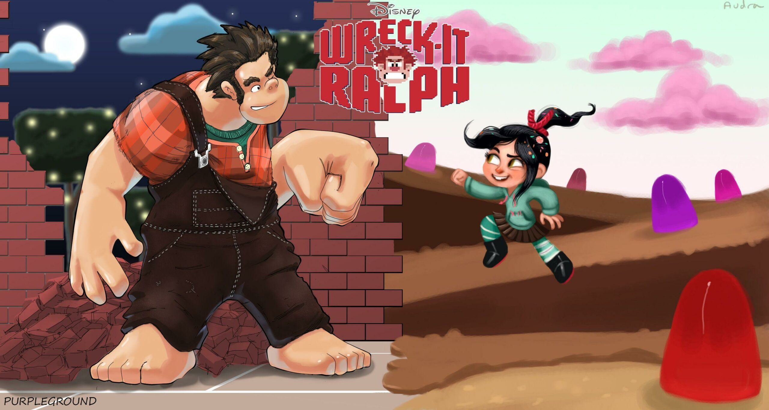 Wreck It Ralph Funny Images