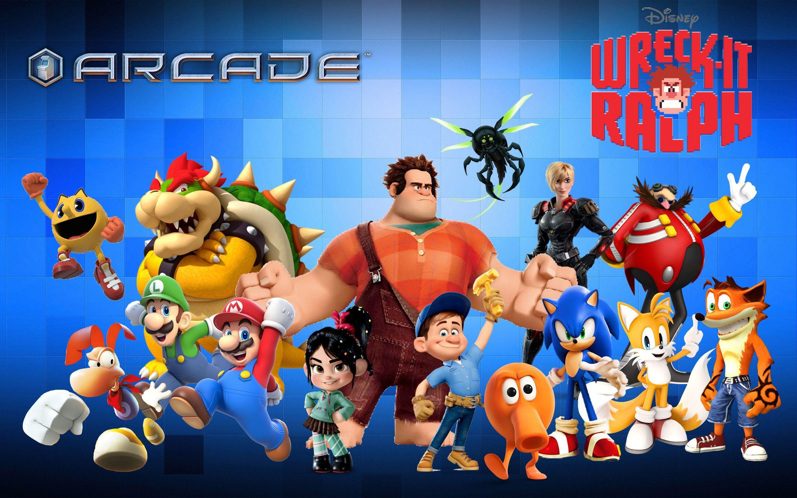 Wreck It Ralph Images Of Characters
