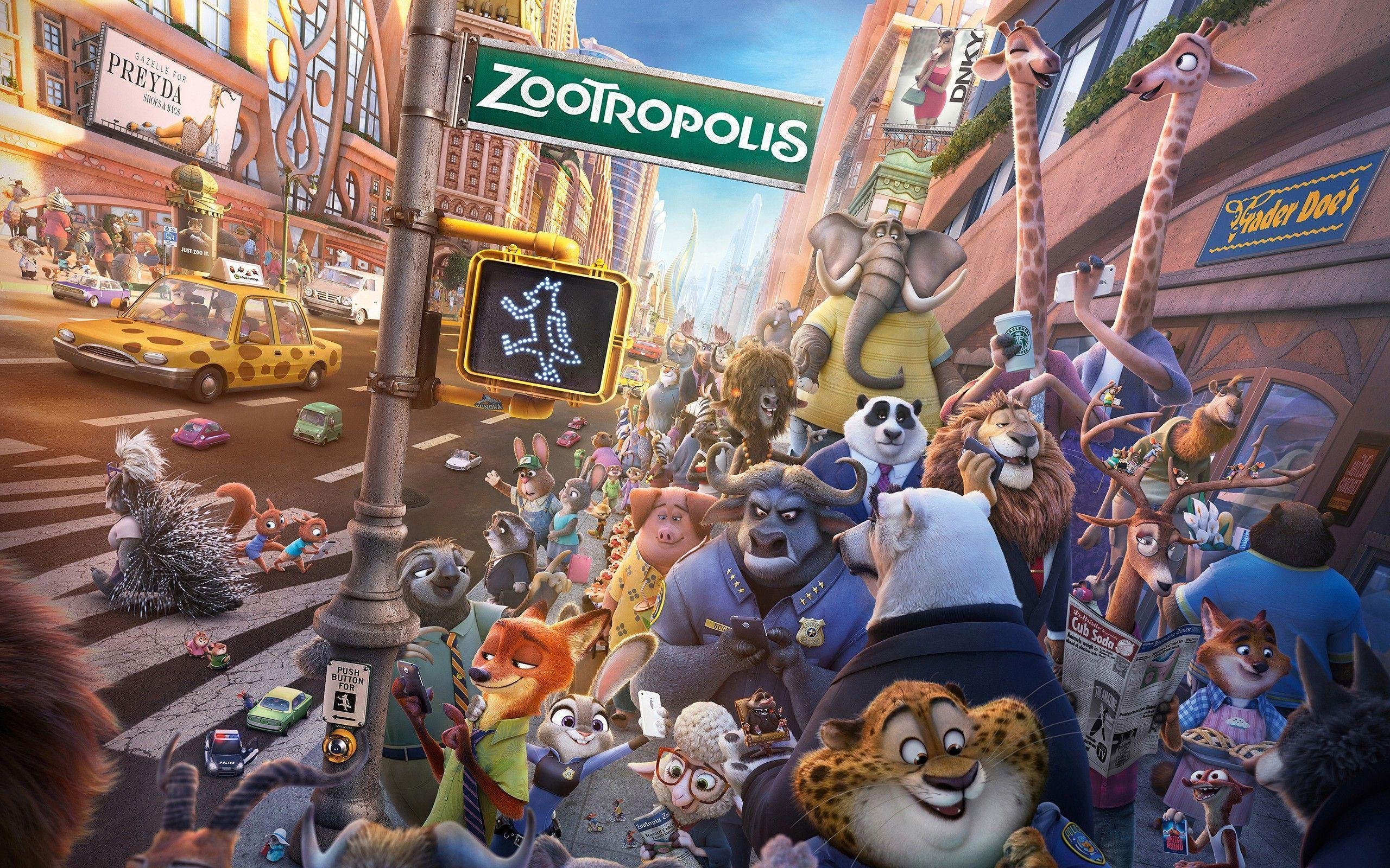 Zootopia Characters Pictures