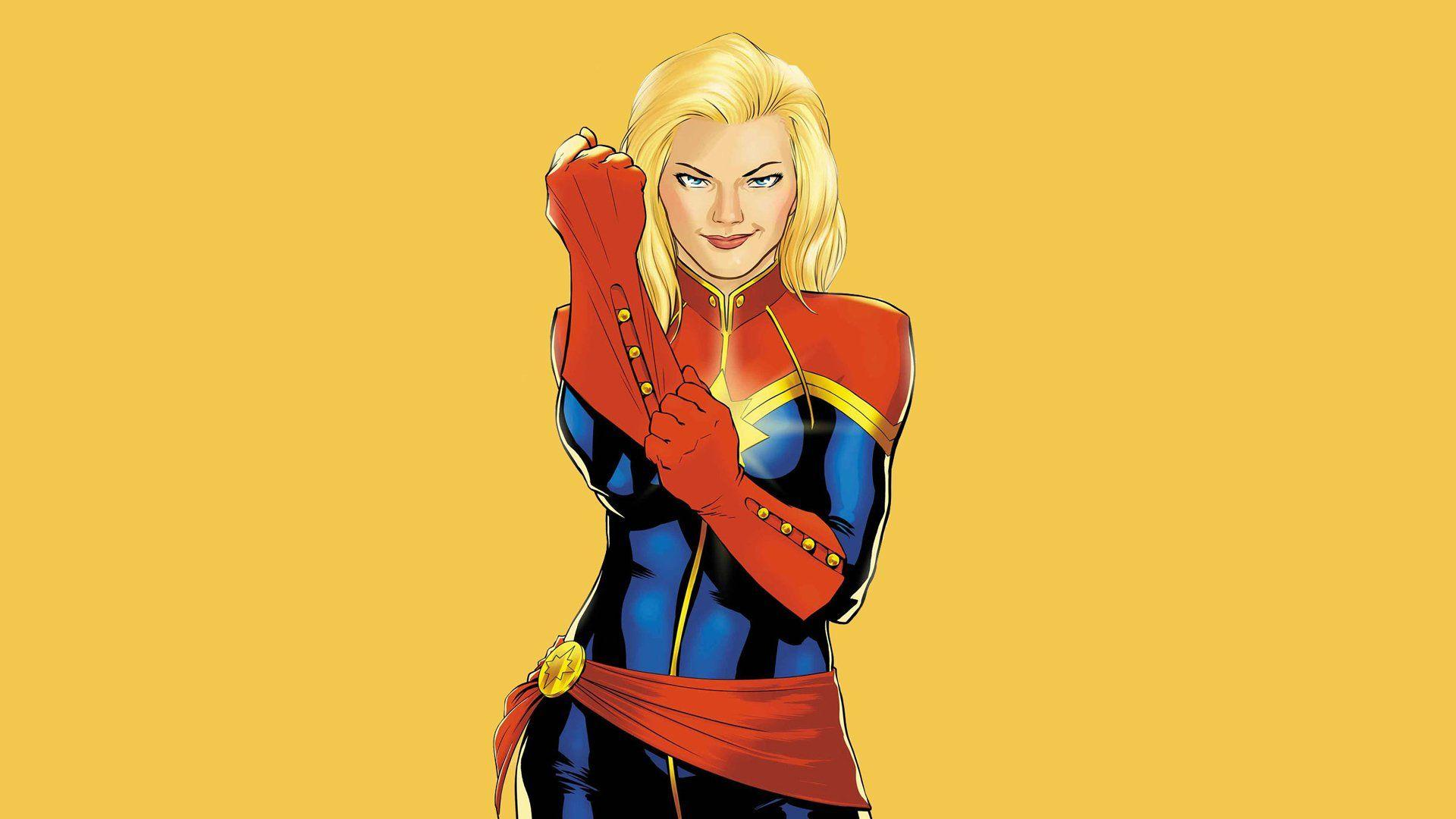 Captain Marvel Animated Picture