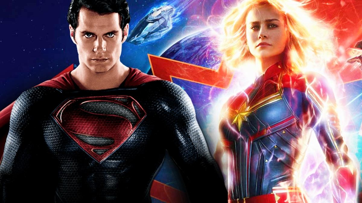 Superman And Captain Marvel