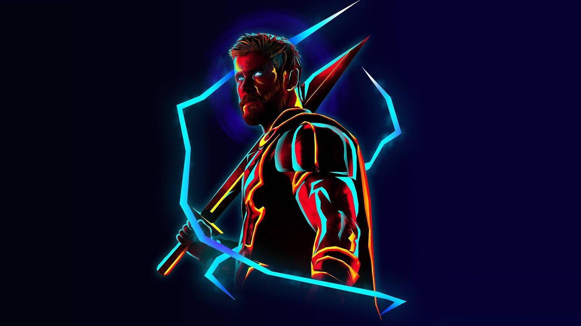 Thor Neon Images