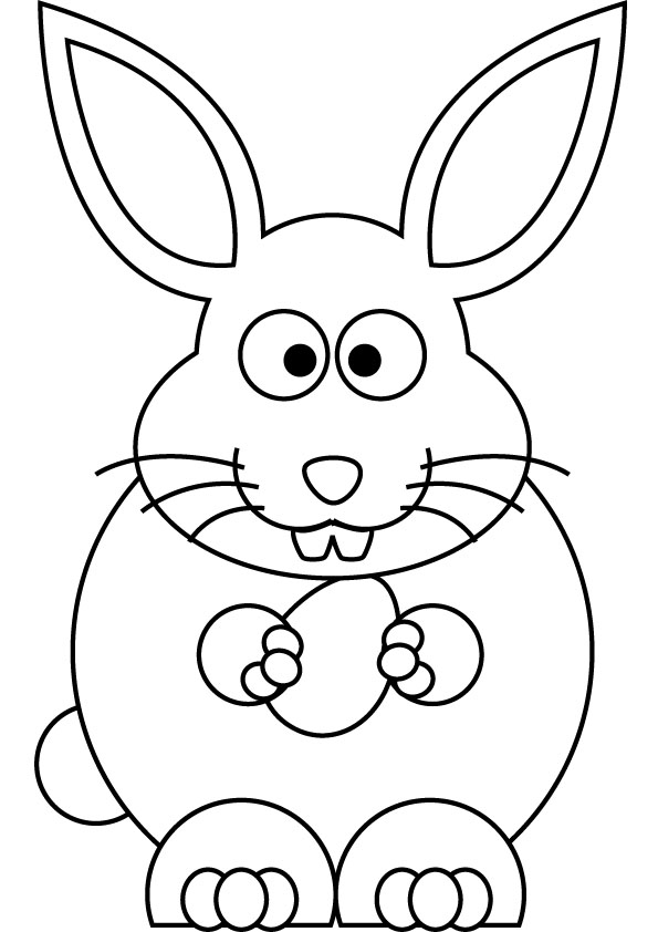 Baby Bunny Coloring Pages