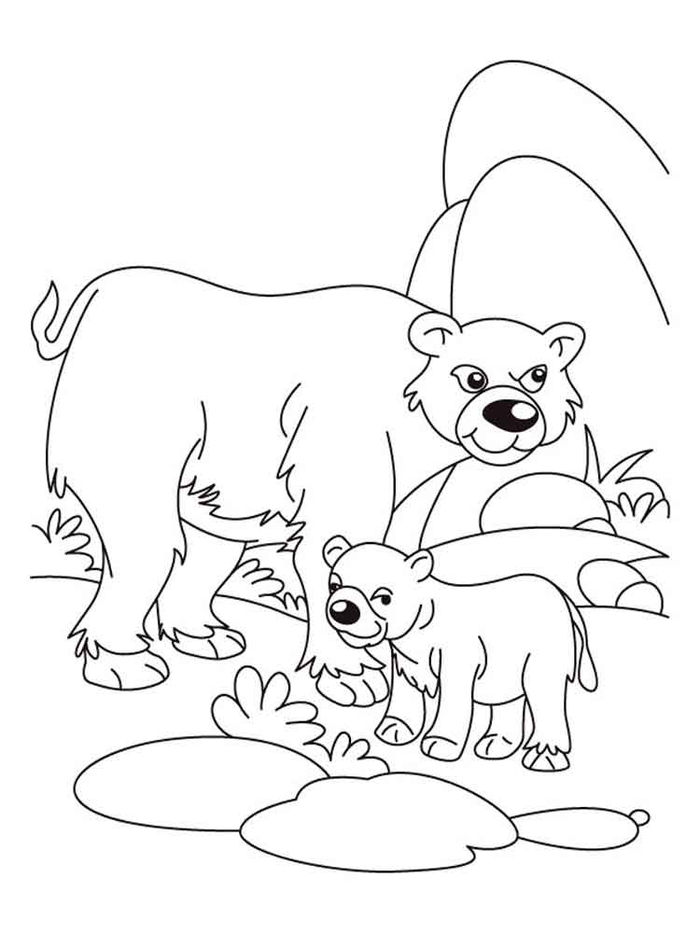 Bear Inthe Big Blue House Coloring Pages