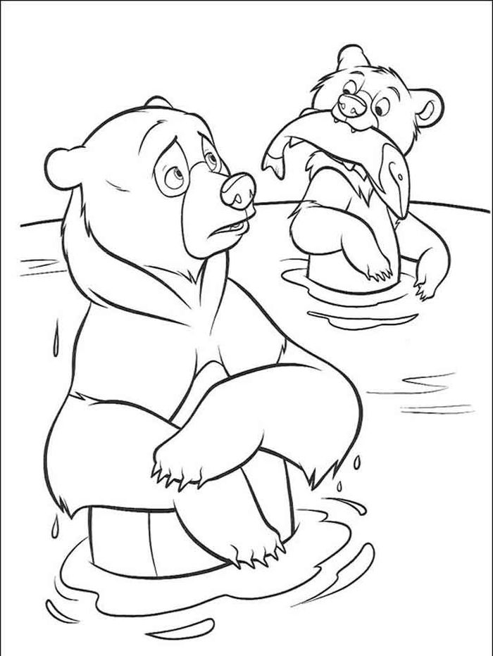 Bear Snores On Coloring Pages