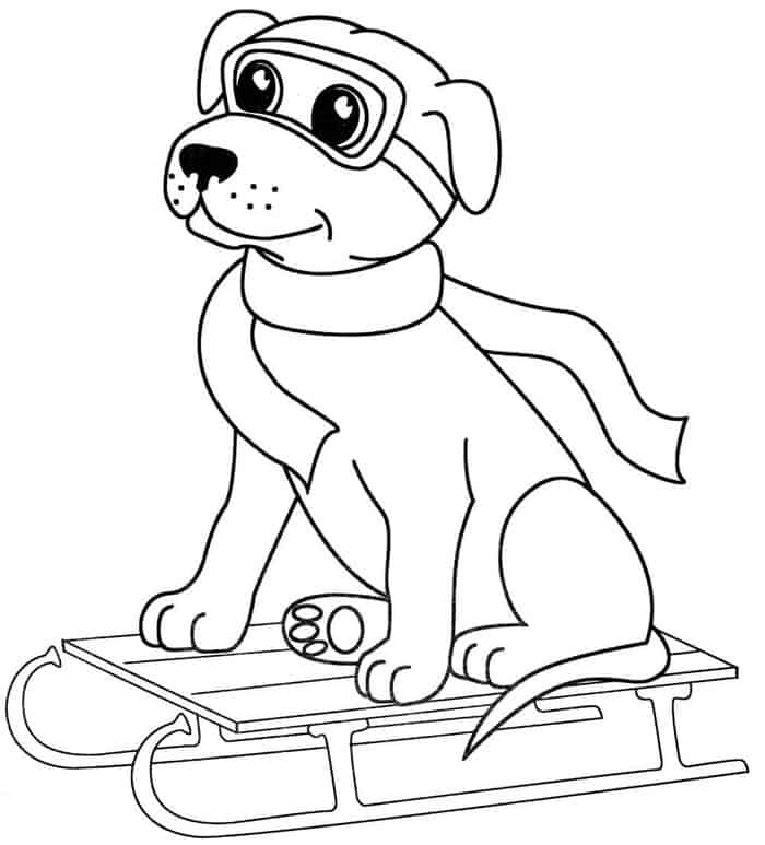 Big Dog Coloring Pages