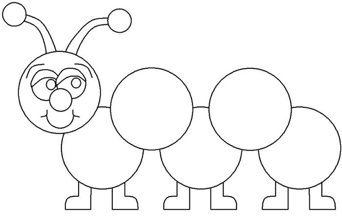 Caterpillar Coloring Pages To Print