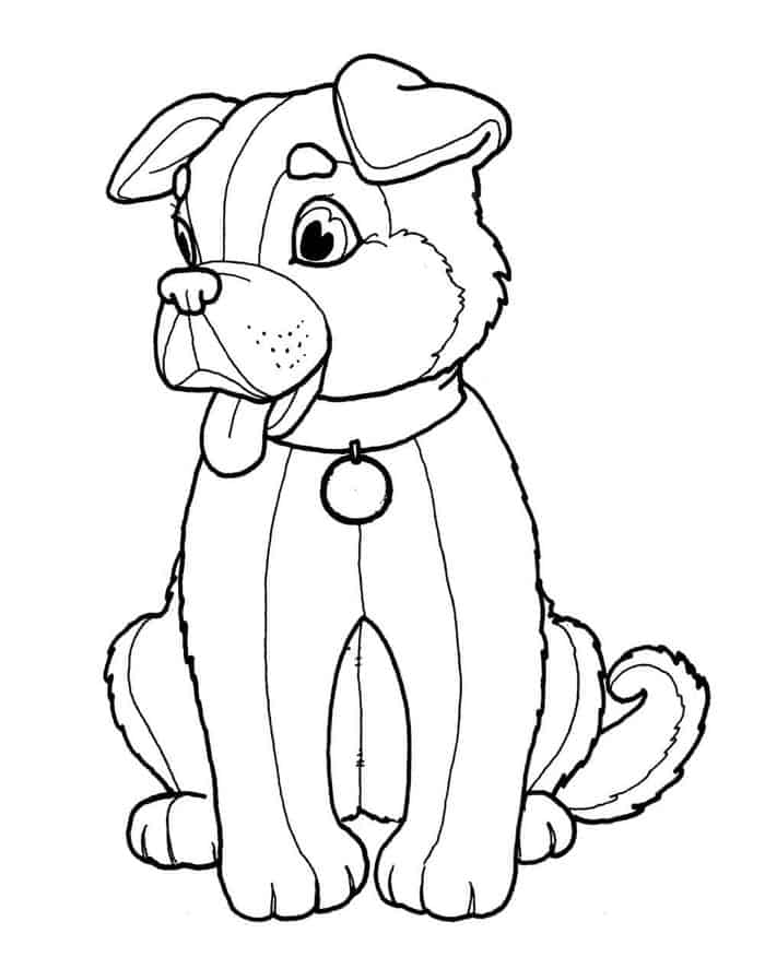Coloring Pages Dog Breeds