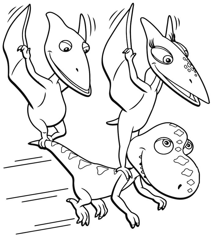 Coloring Pages For Dinosaurs