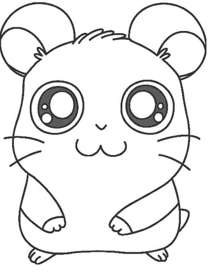 Coloring Pages Hamster