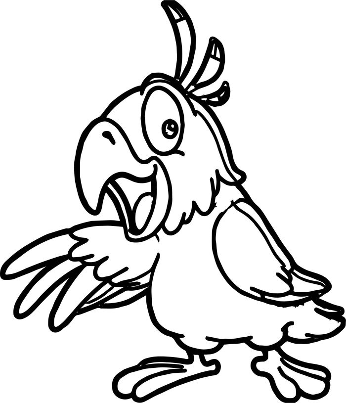 Coloring Pages Of A Bird