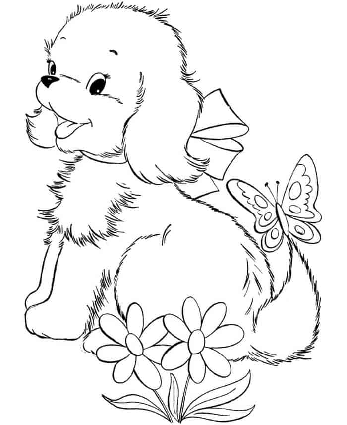 Coloring Pages Of Dog