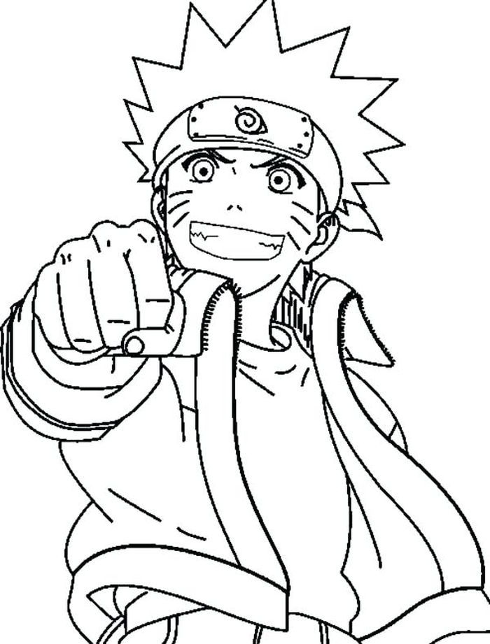 Coloring Pages Of Naruto