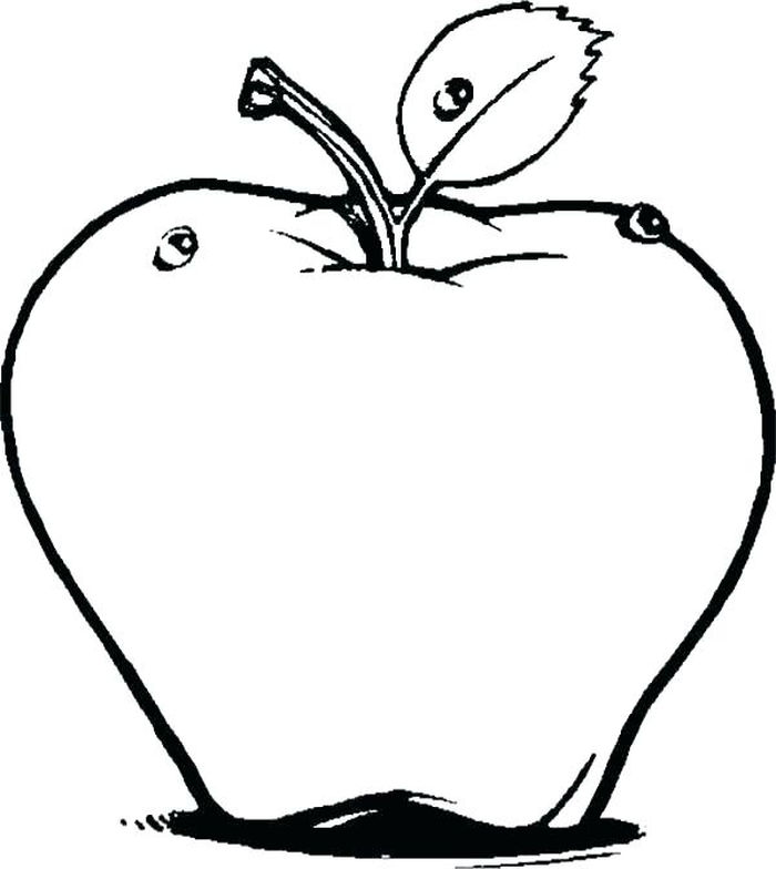 Coloring Pages Of The Apple In Decendants
