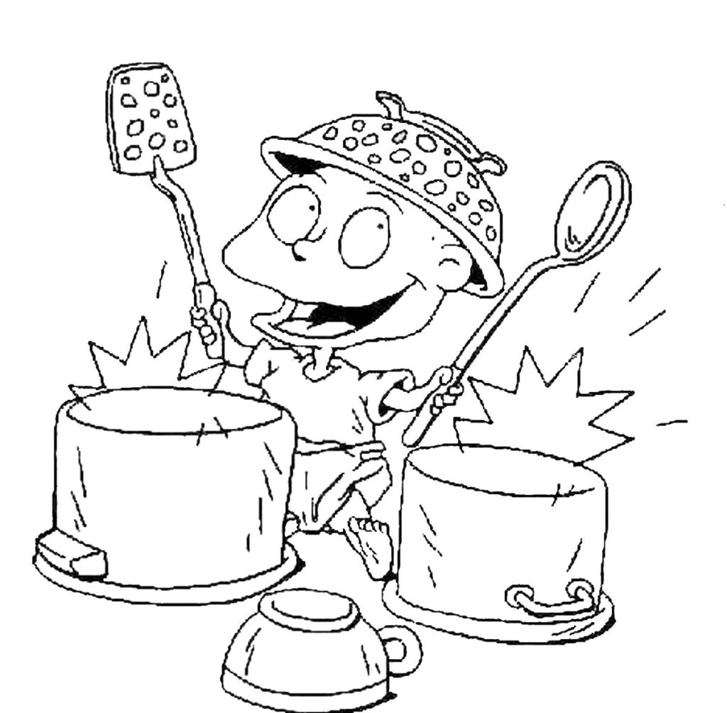Coloring Pages Rugrats