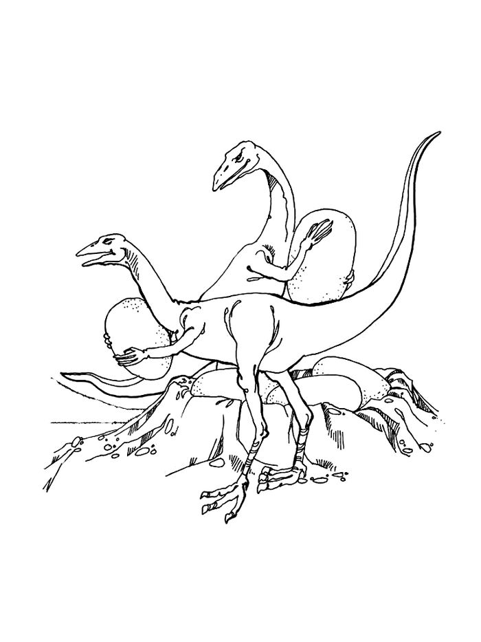 Cute Coloring Pages Of Baby Dinosaurs Triceratops