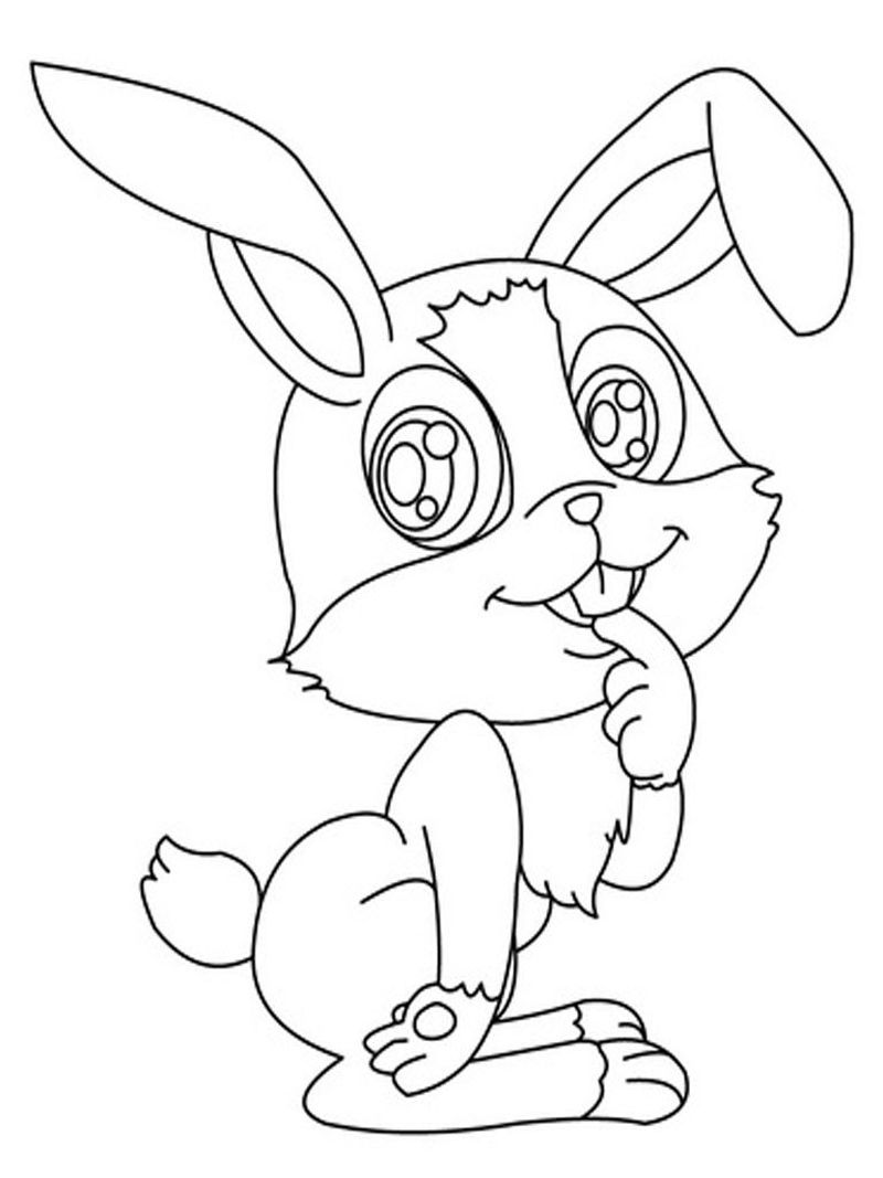 Download Bunny Coloring Pages
