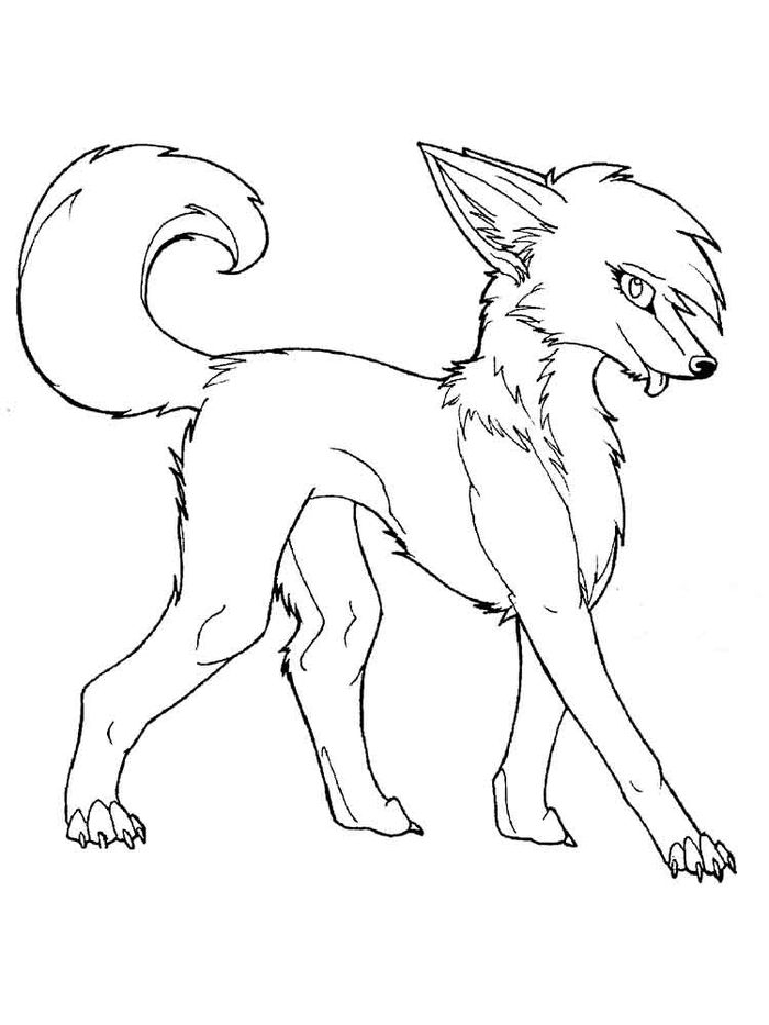 Fox Adult Coloring Pages
