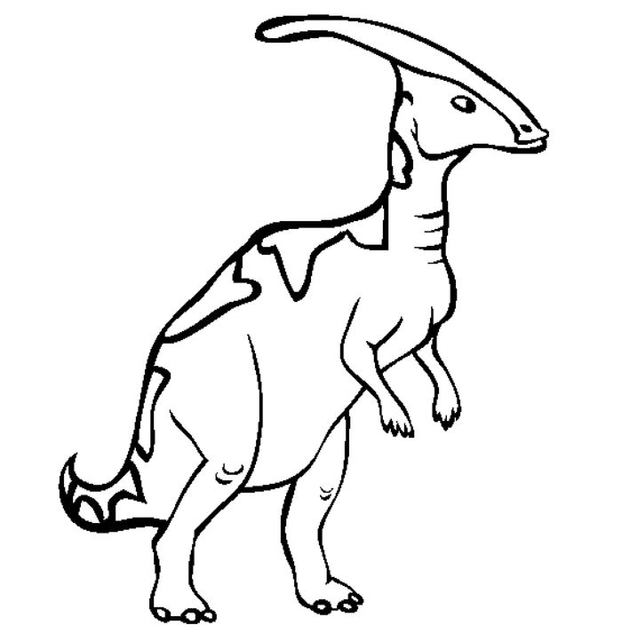 Free Dinosaurs Coloring Pages
