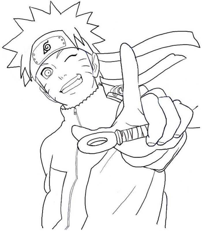 Naruto Shippuuden Coloring Pages