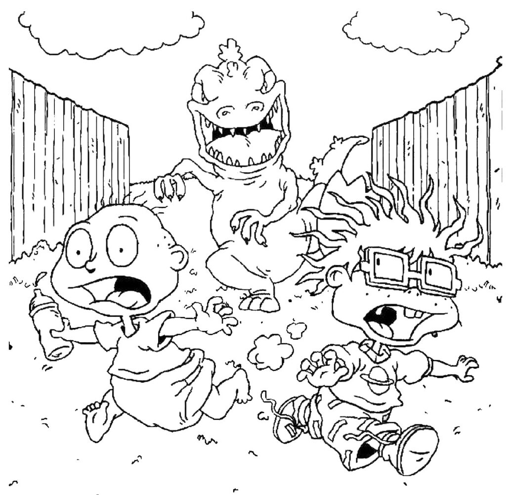 Nickelodeon Rugrats Coloring Pages