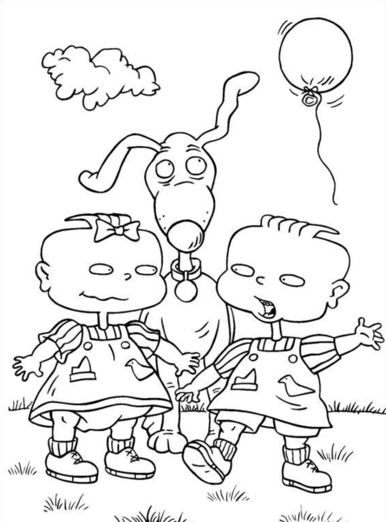 Rugrats Coloring Book Pages