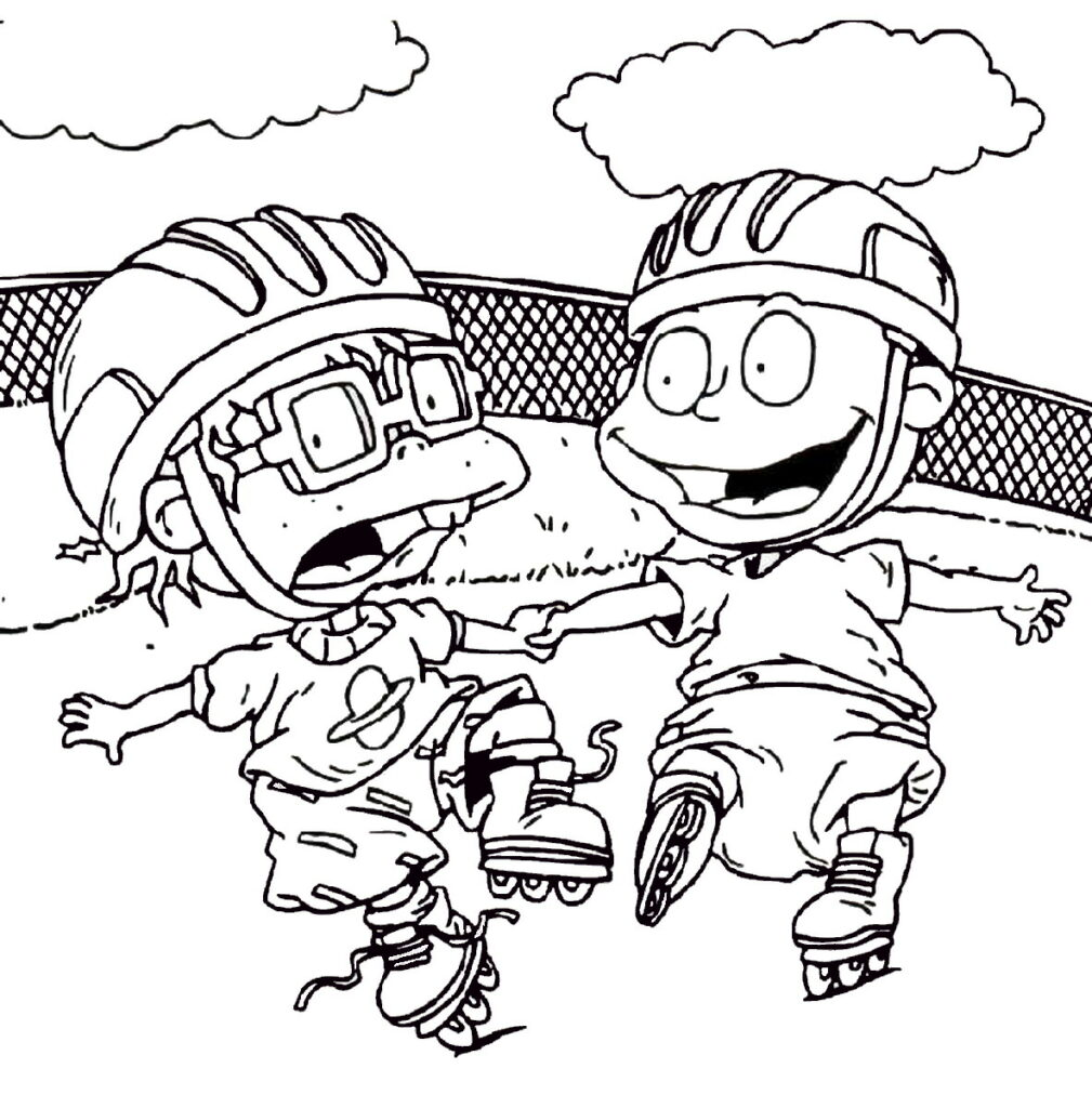 Rugrats Coloring Pages Online