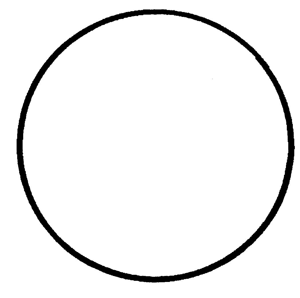 Circle Shape Coloring Pages