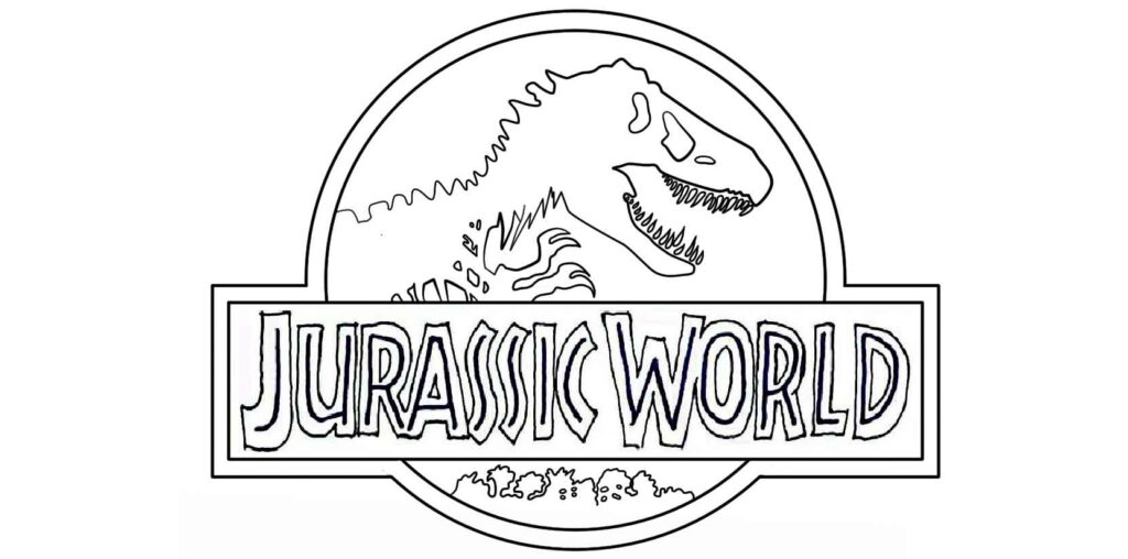 Coloring Pages Jurassic World