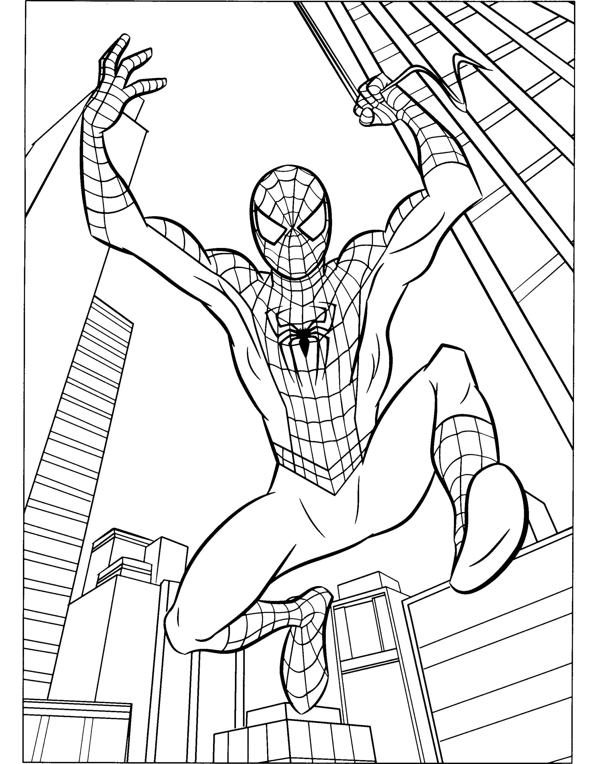Marvel Comics Coloring Pages