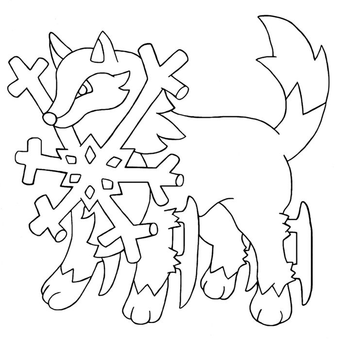 Adult Coloring Pages Husky