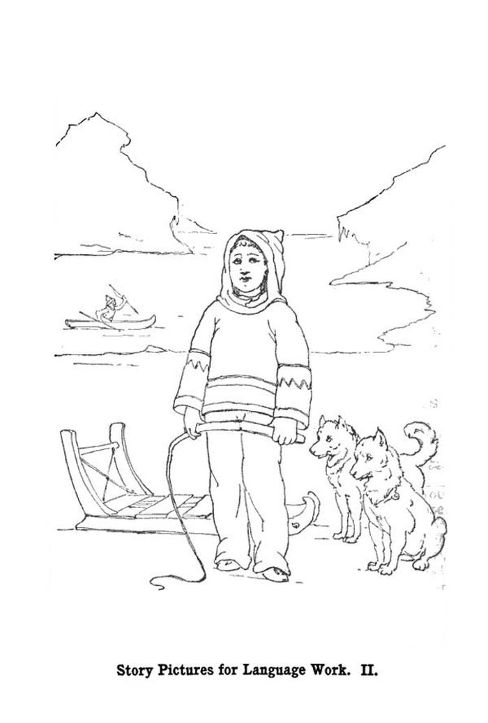Baby Husky Coloring Pages Printable